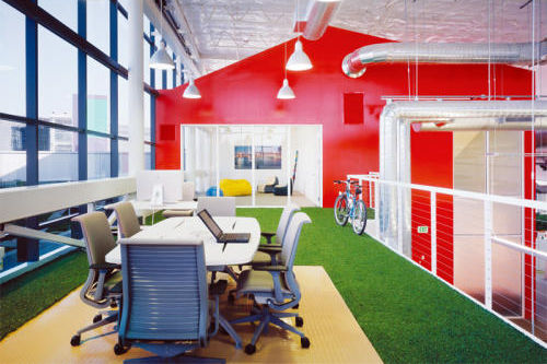 Google innovative office