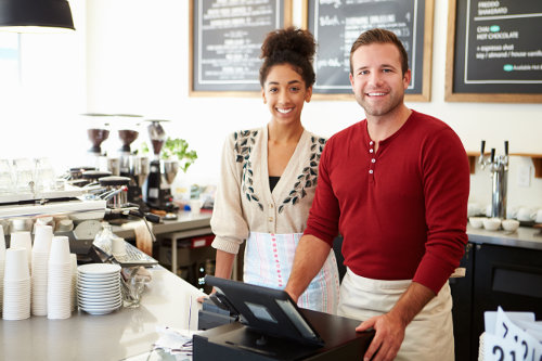 Cafe co-owners
