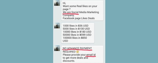 Don't Fall for Facebook LIKE Scams