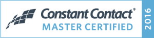Constant Contact Master Certified 2016 Badge