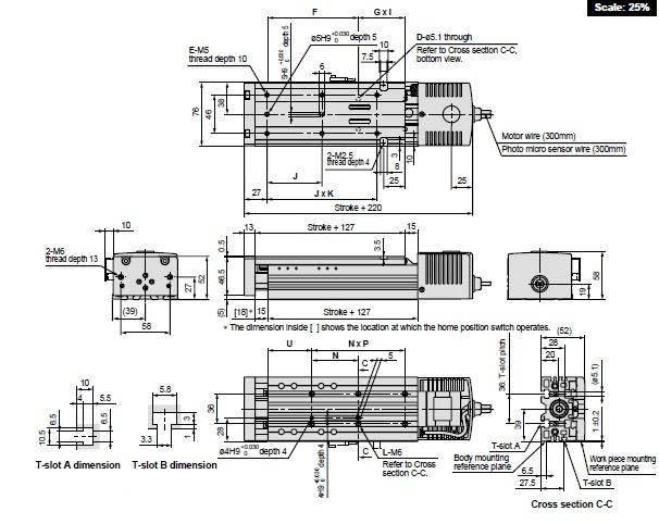 SMC LXSH2BD-100S-M9N2 actuator, elec h/rigidity,ball, LX ELECTRIC