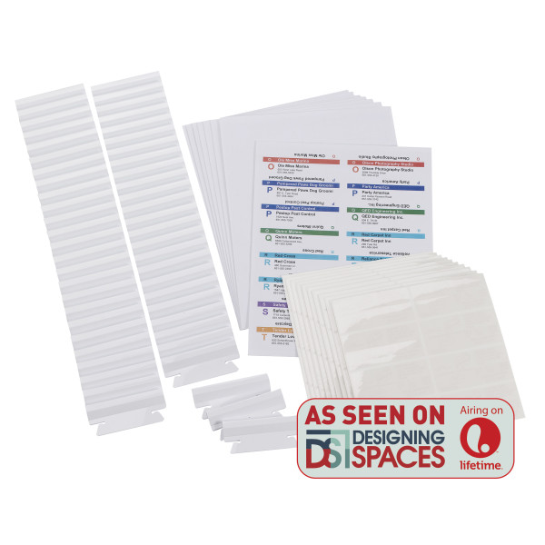 Viewables® Premium 3D Hanging Folder Tabs  Labels