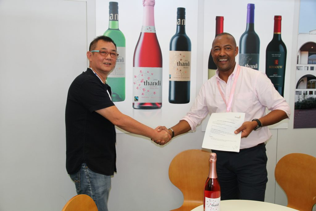 SA Winemaker Scores R700,000 Export Contract with China - SME