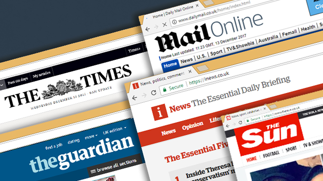 Which newspaper websites get the most crossover readership? \u2013 SMG
