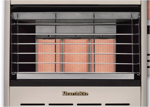 Hearthrite Vent Free 6000 Btu Manual Infrared Heater