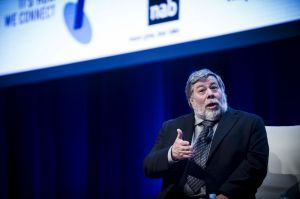 Apple co-founder Steve Wozniak, whose company has helped AI technology to become mainstream.