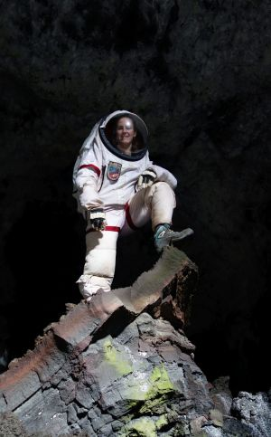 NASA scientist Carmel Johnston says there were some definite health benefits to being stuck in a closed environment 2500 ...