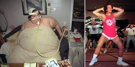 Michael Hebranko: former heaviest man on earth down seized to 90 kg