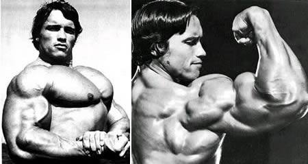 Arnold Schwarzenegger: youngest Mr. Universe at age 20, then won Mr. Olympia seven times