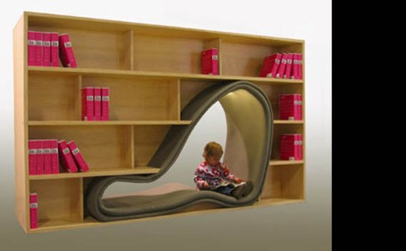 Cave Book Case