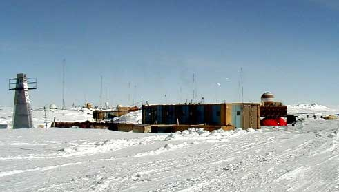 "Russian research facility located on the southern ""pole of cold""."