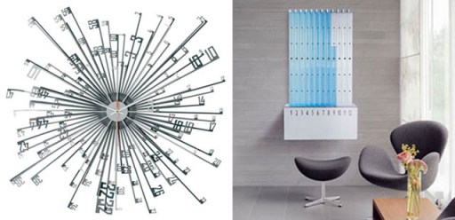 """The Explosion of Time"", design by Niels van Eijk & Miriam van der Lubbe and ""The Water Clock"""