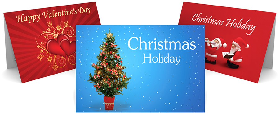 indesign christmas card template - zrom
