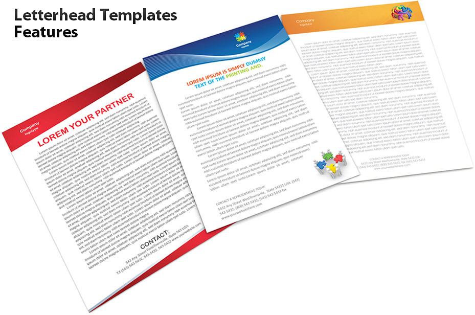 Letterhead Templates Features - SmileTemplates