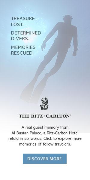 The Ritz Carlton banner ad design