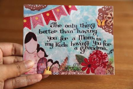 FREE printable Mother's Day card grandma