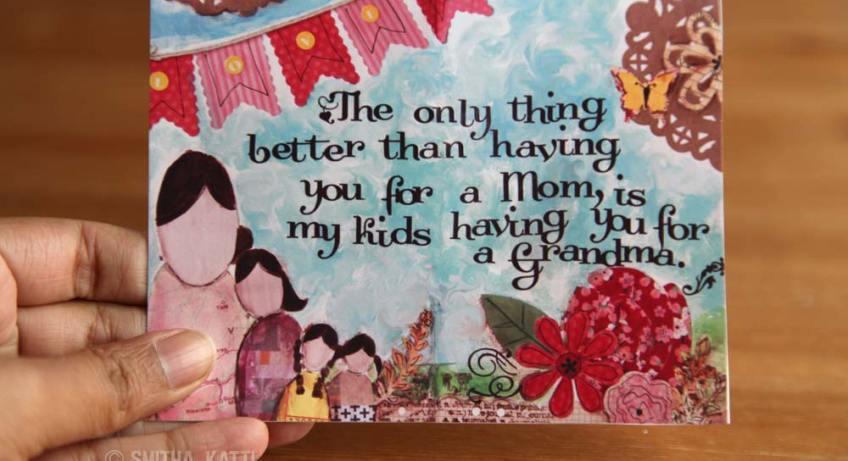 FREE printable Mother's Day card grandma