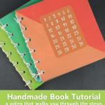 Handmade Holidays 2015: Make A Handmade Book