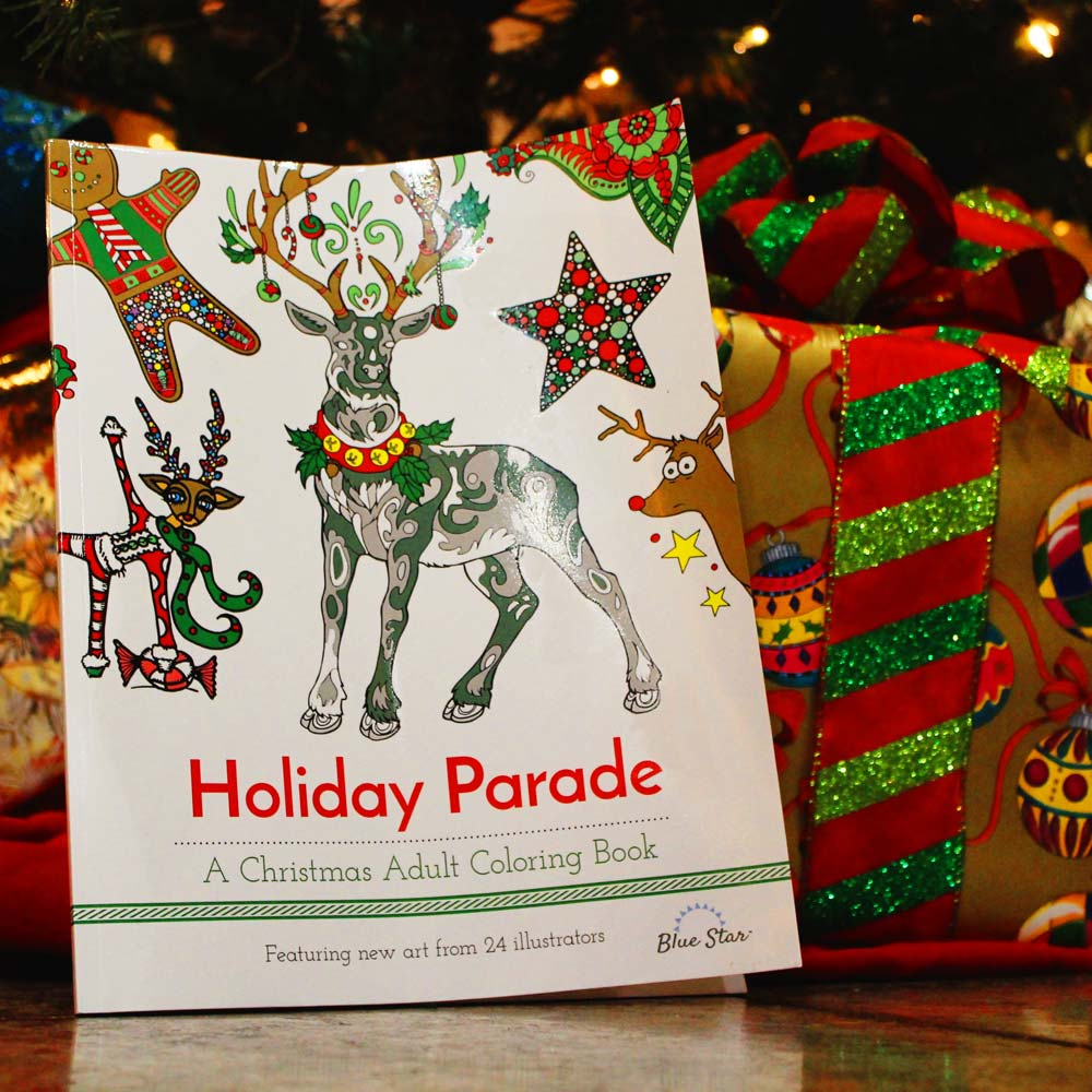 Holiday Coloring Book For Adults And A Giveaway Smiling