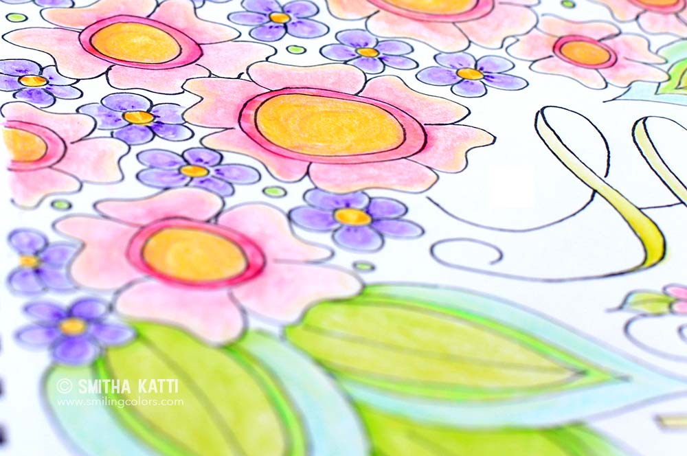 Adult Coloring Video Free Printable Giveaway Smiling