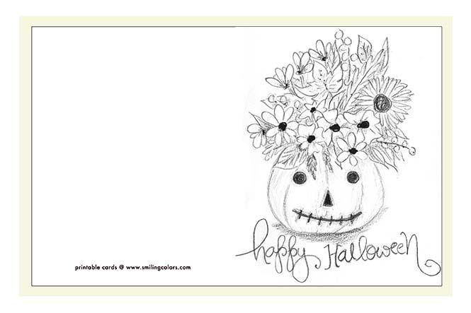 Halloween pencil sketch