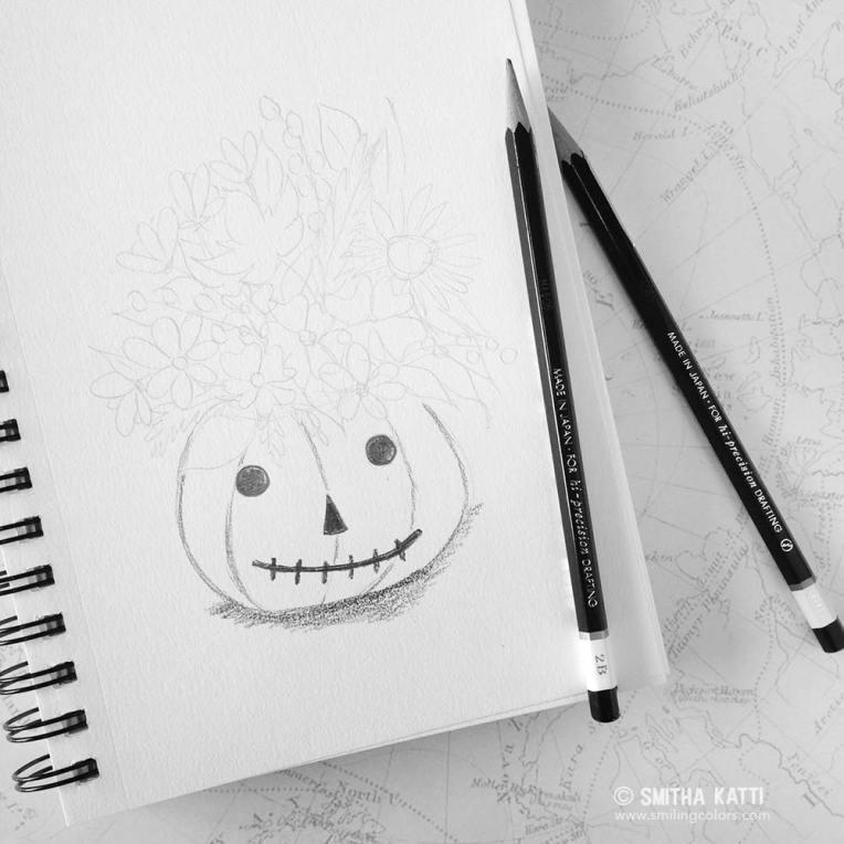 halloween_pencil_drawing