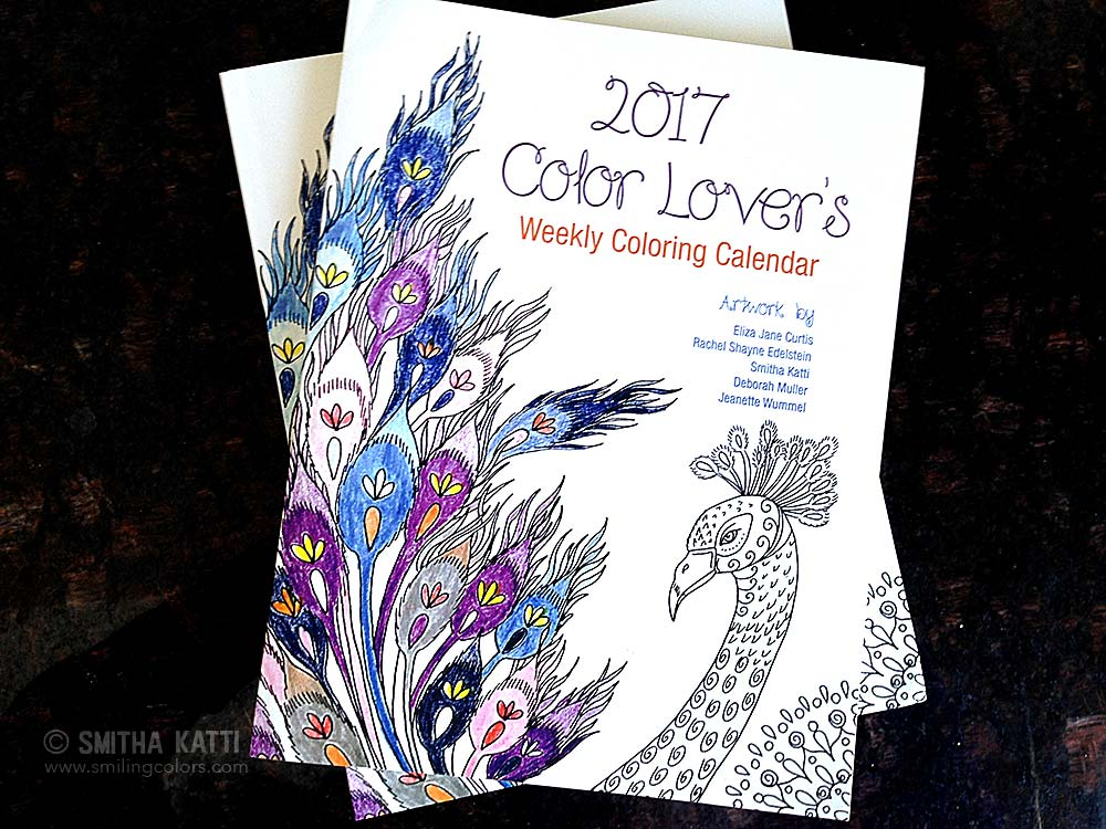 Weekly Planner and Coloring Book for Adults