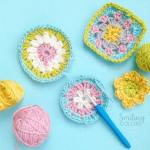How to easily crochet coasters with a video for beginners