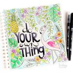 How to color with the Tombow Blending pen and why I love it