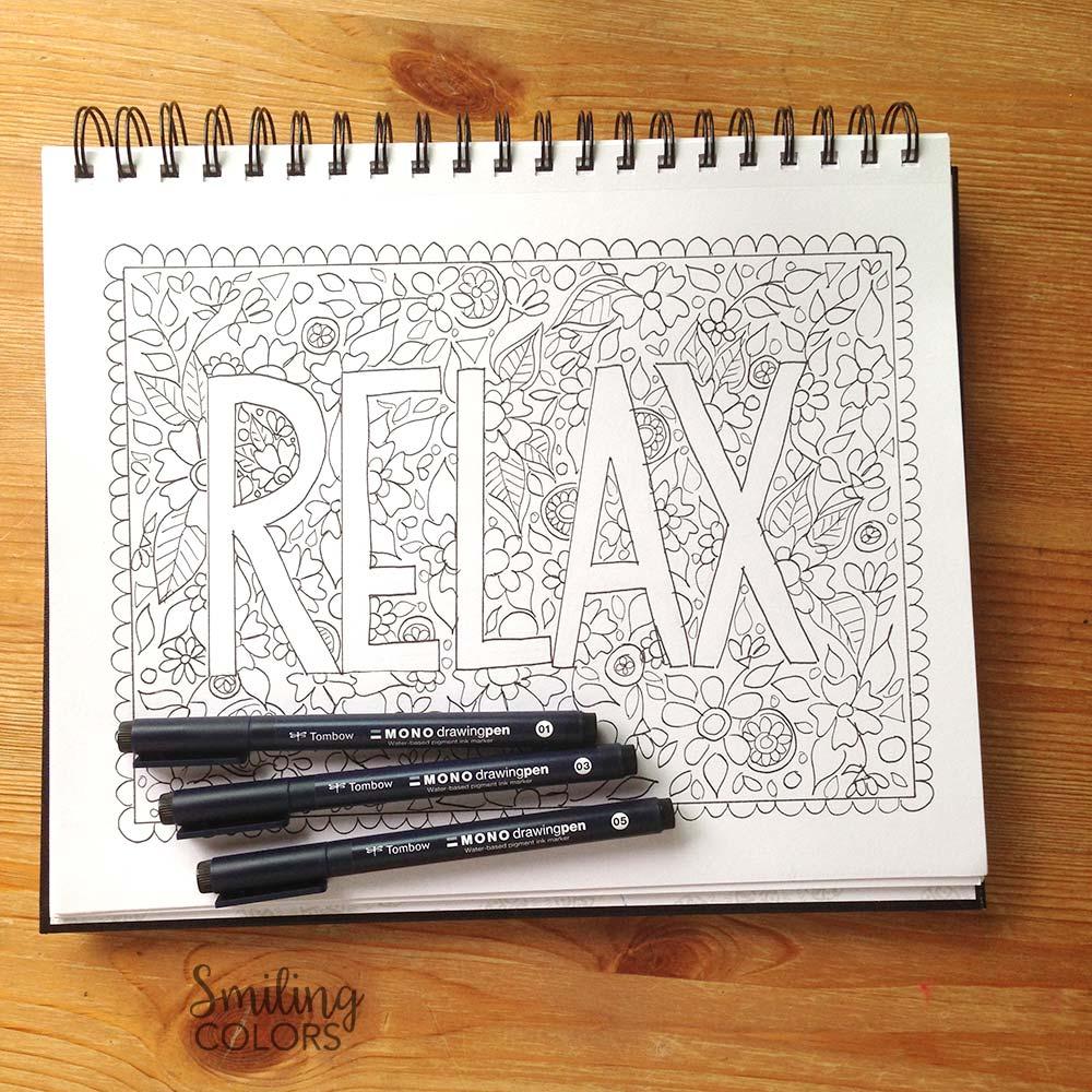 MONO drawing pens