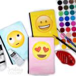 VIDEO: How to make your own unique emoji notebook covers easily