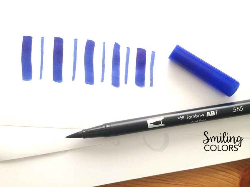 brush lettering papers