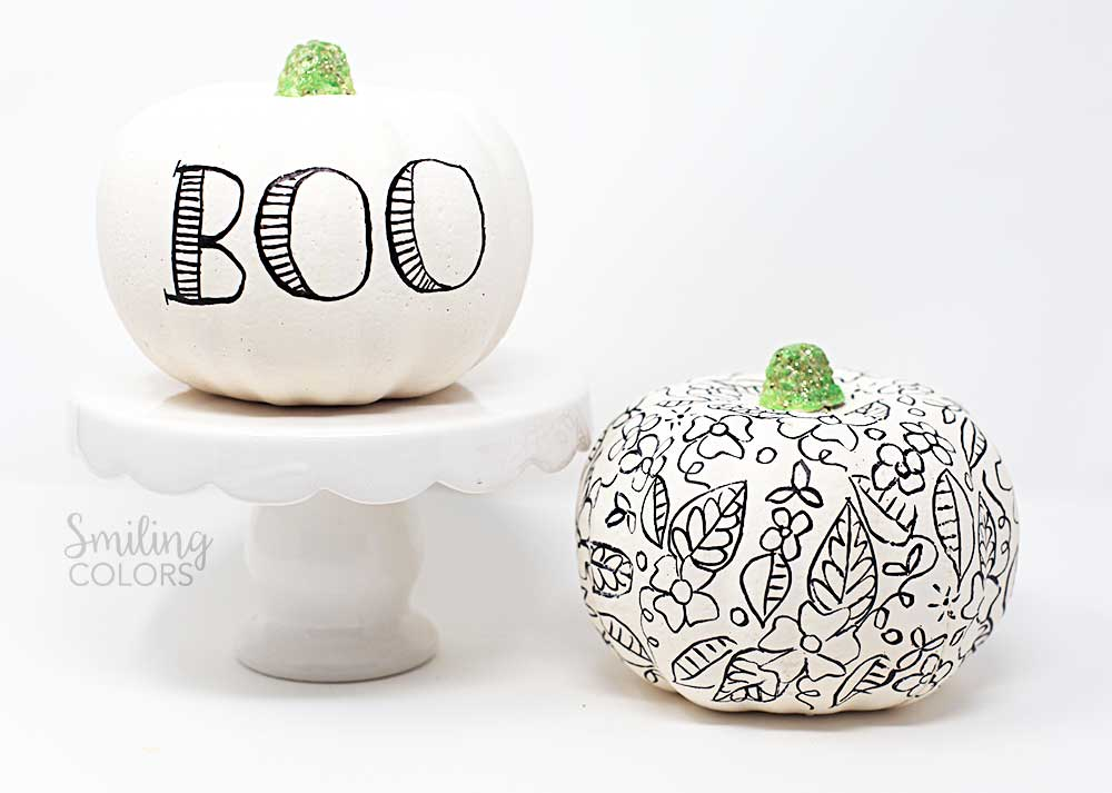Dollar Tree Pumpkin makeover