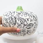 Easy Dollar Tree Pumpkin makeover with How-To Video