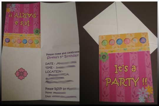 40th Birthday Ideas Birthday Invitation Template Quarter Fold