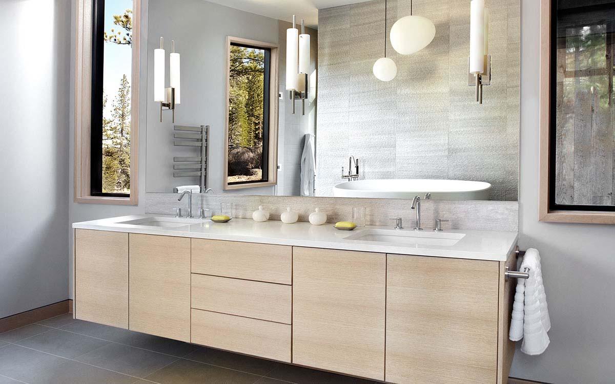 Custom bathroom cabinet makers