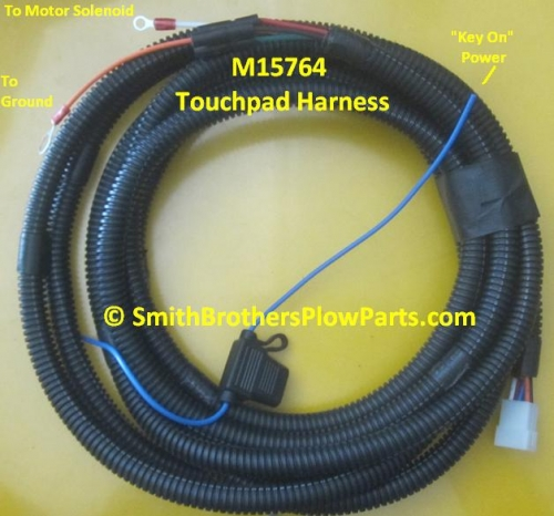 Meyer plow touchpad controller wiring harness
