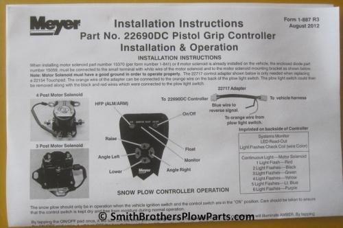 meyer pistol grip controller wiring diagram