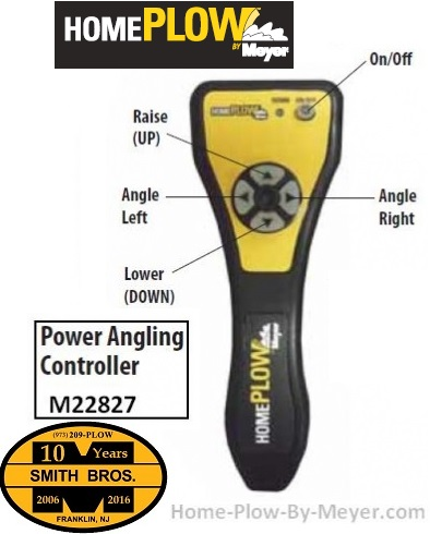 Controller HomePlow by Meyer Power Angling 22827