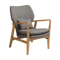 Vintage Style Scandinavian Grey Armchair at Smithers of ...
