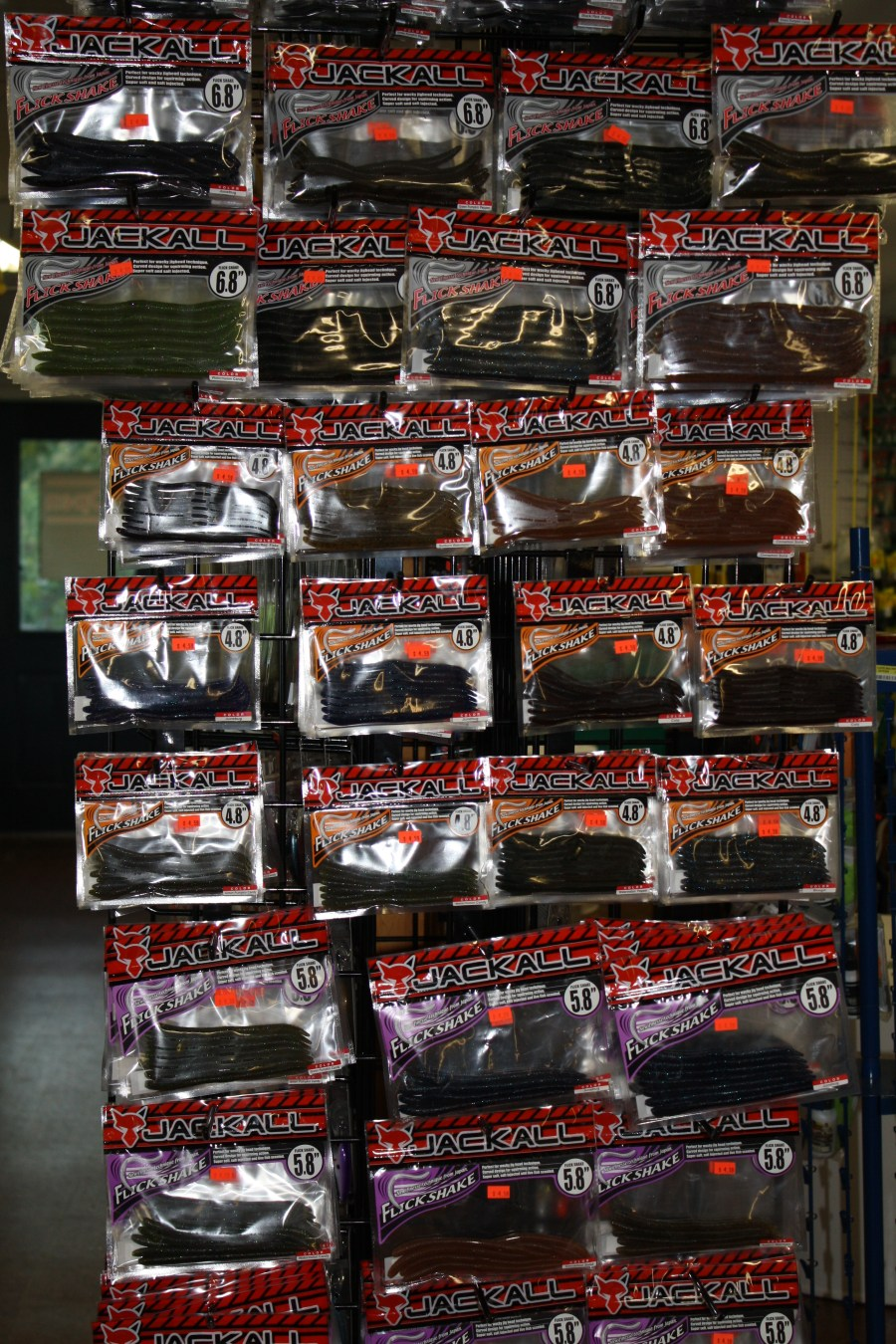 Jackall baits in various colors & sizes