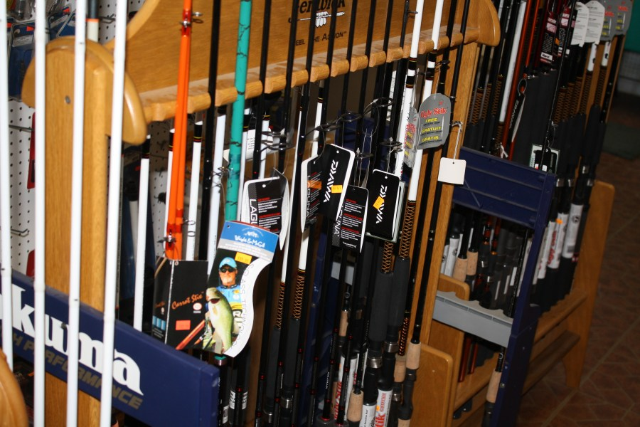 New Fishing Rods stocked.