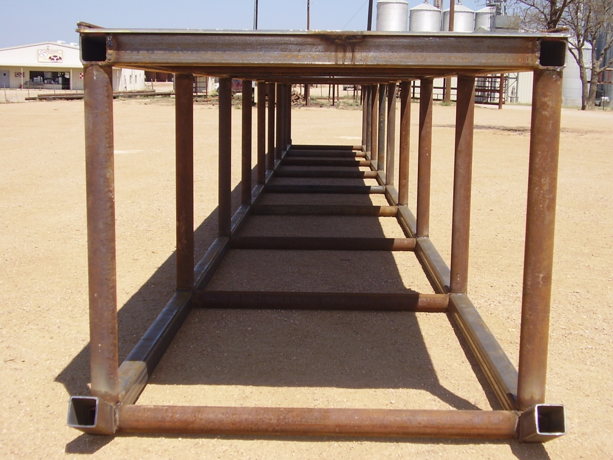 Oilfield Triangle Pipe Racks And Catwalks Smith Steel
