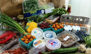 Choose from over 400 of the freshest local produce and groceries online at OurHarvest.com and pick up your order in Smithtown. Photos courtesy of OurHarvest