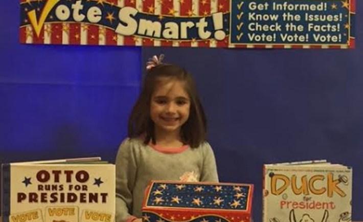 kindergarten election day lesson