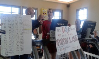U.S. record Byron Lane Ultra runner Friends of Karen