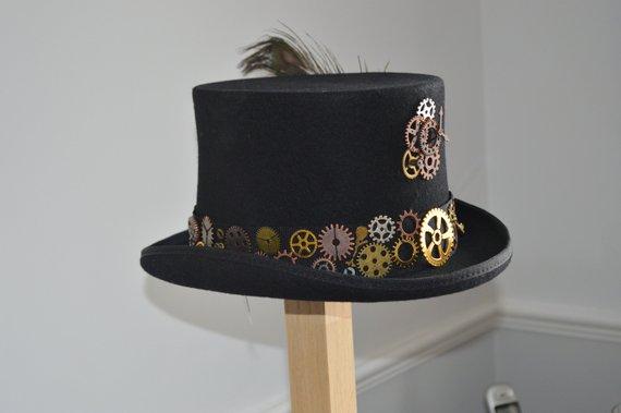 Steampunk Top Hat By Hendersonscurios Buy Online