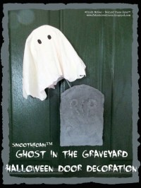 Ghost in the Graveyard Halloween Decoration | Smoothfoam