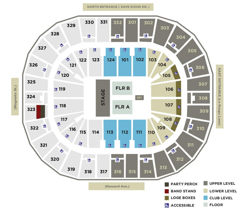 smoothie king center seating chart - Heartimpulsar