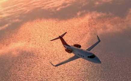 Private Jet around Europe